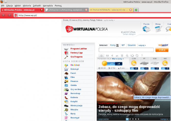 Fab Tabs 1.4 - wtyczka Mozilla Firefox 4 Lifehacker Polska