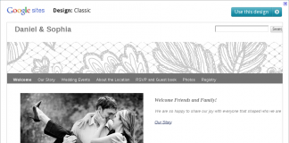 Google Sites - Ślub