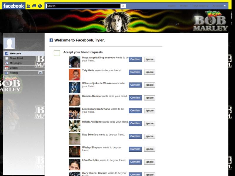 Stylish - Facebook - Bob Marley (Reggae)