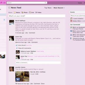 Stylish - Facebook Pink Elegant