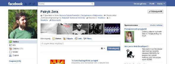 strona profilu użytkownika