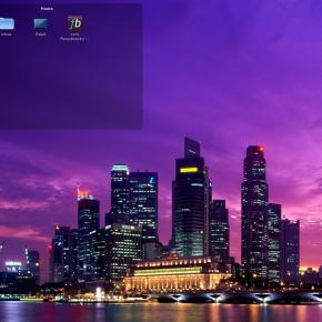 Widżet Folder View w KDE 4.6 (Linux)