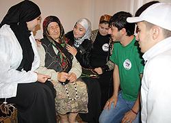 Kaukaz. Szacunek do osób starszych