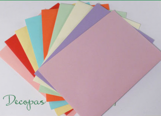 Koperty kolorowe Decopas