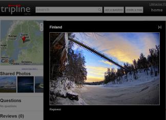 Tripline - Finlandia - Park Narodowy Repovesi