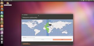 Ubuntu 11.04 (Natty Narwhal) - Instalacja - Wybór położenia geograficznego