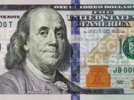 Benjamin Franklin - banknot studolarowy (USA)