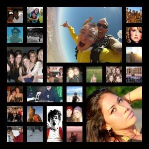 Friend Matrix - analiza i collage - najlepsi przyjaciele na Facebooku