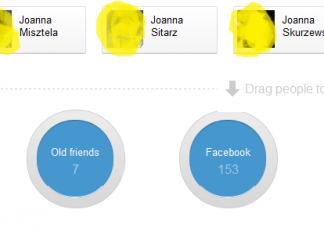 Circle hack - dodawanie znajomych do Kręgów (Facebook) - przeciągnij i upuść - Lifehacker