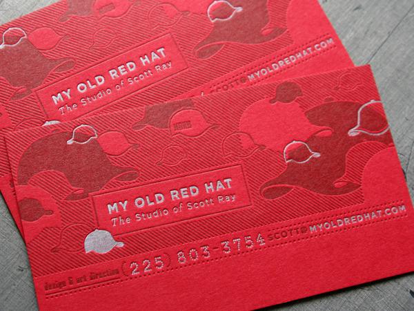 Przykłady dobrych wizytówek, które zapamięta Twój potencjalny pracodawca - Old Red Hat - Lifehacker