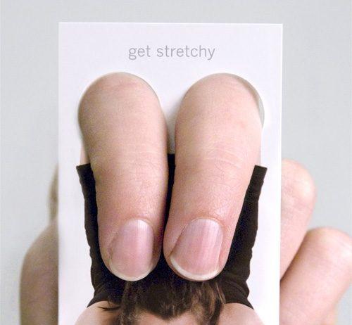 Przykłady dobrych wizytówek, które zapamięta Twój potencjalny pracodawca - Yoga One - Lifehacker
