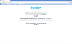 Wyszukiwarka Twittera w pasku adresu przeglądarki internetowej