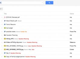 Dokumenty Google - Nowy widok Google Docs