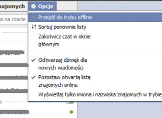 Facebook - stary czat (przywrócenie)