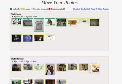 Przenoszenie zdjęć z Facebooka do Google+ przy użyciu wtyczki do Google Chrome - Move Your Photos