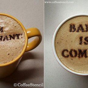 Szablony CoffeeStencil - 3 - (Nie)szablonowe komunikaty i wzorki na kawie
