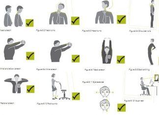 Ćwiczenia dla pracowników biurowych