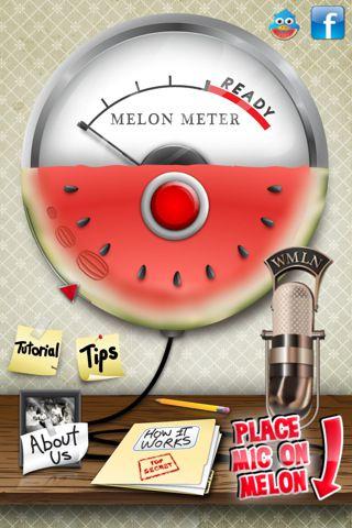 Melon Meter dla iPhone - Zainwestuj w porządny arbuzometr. Póki w sklepach są arbuzy