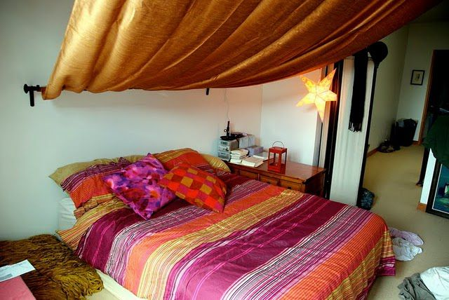 Romantyczna sypialnia w marokańskim stylu - 1