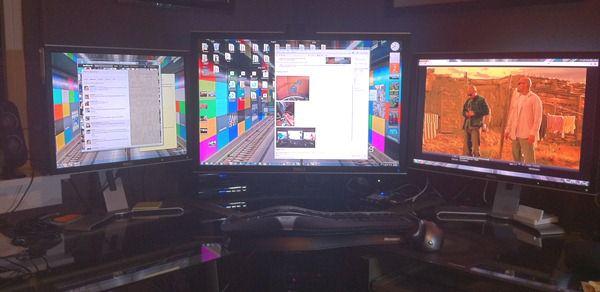 Praca na kilku monitorach w systemach Windows