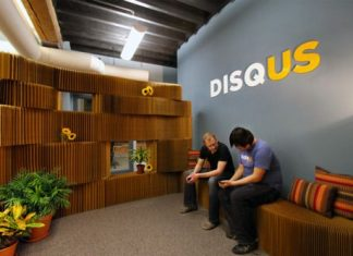 W tym nowym epickim biurze tworzony jest słynny system komentarzy Disqus - 1