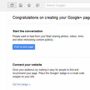 Lifehacker w Google Plus (Google+ Pages)