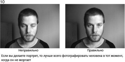 10 Jeżeli robisz portret, najlepiej jest sfotografować człowieka wtedy, gdy nie mruga