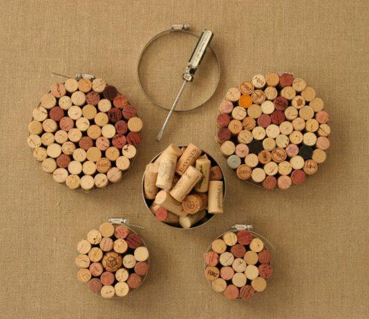 18 zapierających dech sposobów na wykorzystanie korków po winie