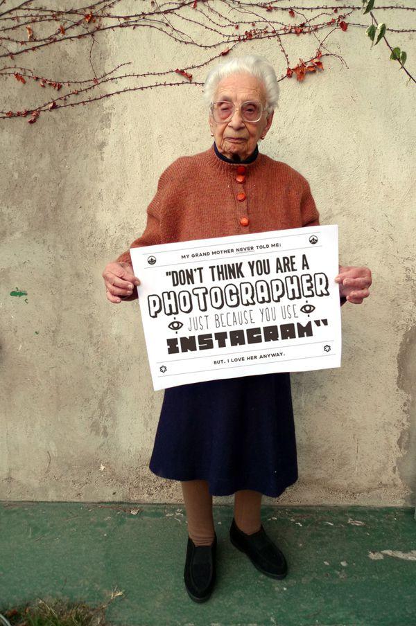 Nie myśl, że jesteś fotografem, tylko dlatego, że masz zainstalowany Instagram