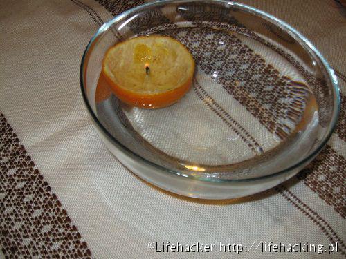 DIY Ładne świece z pomarańczy