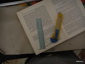 Jak zrobić ze starej książki okładkę do czytnika Kindle - 2