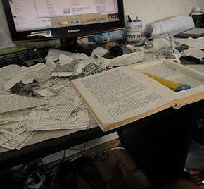 Jak zrobić ze starej książki okładkę do czytnika Kindle - 4