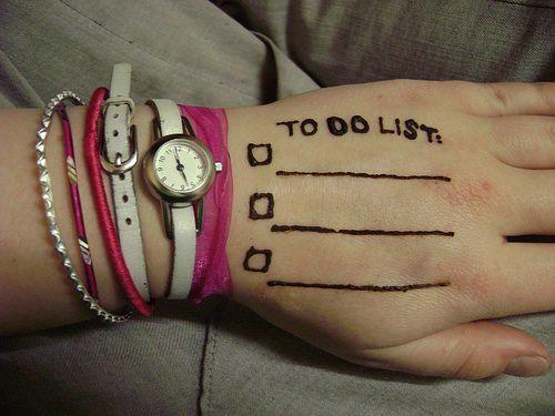 Sposób na prokrastynację - krótka lista zadań 3+2