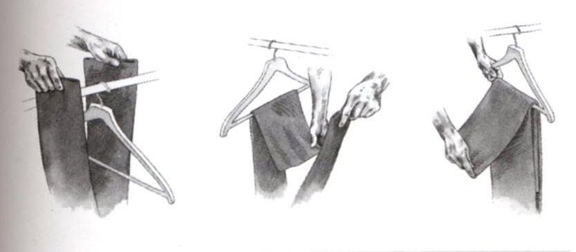 Co zrobić, by Twoje spodnie od garnituru nie spadały ciągle z wieszaka (sposób z Savile Row)