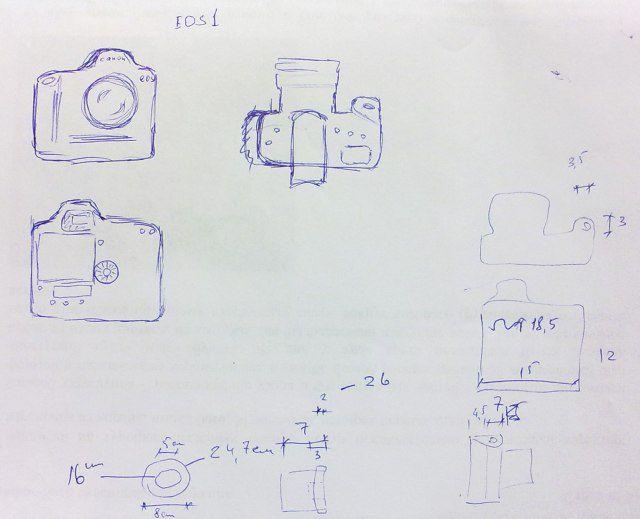 Prezent na urodziny fotografa ręcznie zrobiony Canon za dwie dychy - 03