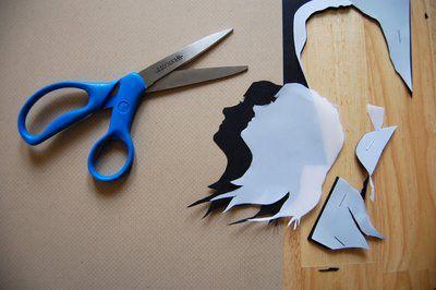 Prezent dla ukochanej osoby - konturowa kartka ze wspólnego zdjęcia - 4