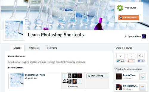 Cramlr - darmowy kurs skrótów Adobe Photoshop