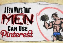 Infografika Jak facet może wykorzystać Pinterest