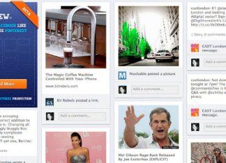 PinView zamienia facebookowego Timeline'a w tablicę a'la Pinterest