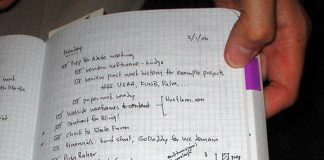 Powrót do papieru- zarządzanie czasem w trybie offline