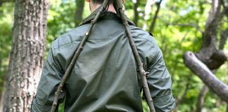 Survival- Jak zrobić plecak z namiotu