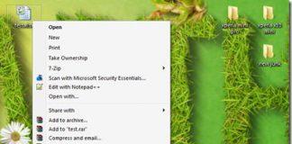 Teraz by przesłać plik do SkyDrive lub Google Drive otwórz prawym przyciskiem myszy menu konkekstowe i wybierz odpowiedni skrót