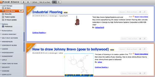 Jak czytać kanały RSS z czytnika Google Reader w trybie online