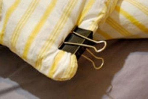 Dopasowywanie poszewki do poduszki