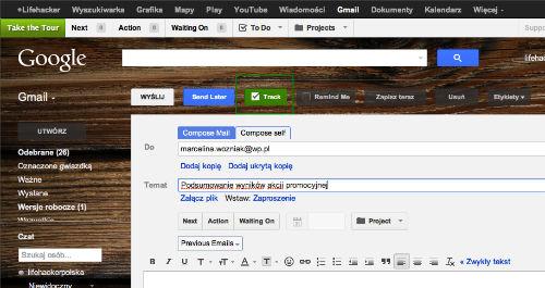 GMail - jak sprawdzić, czy nasz email został przeczytany