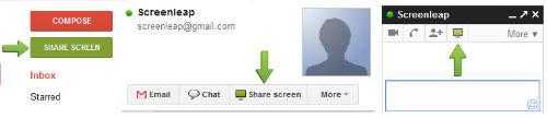 Jak udostępnić swój ekran bezpośrednio z GMaila