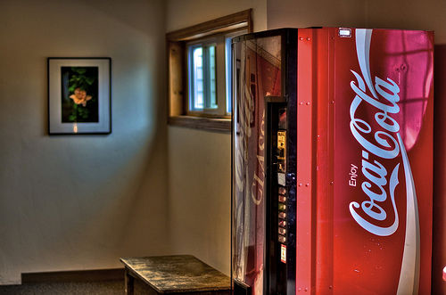 Jakie sekrety ma przed tobą automat z coca-colą
