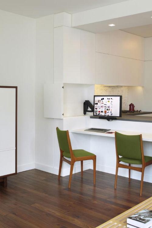 Miejsca pracy - Bufet jako biuro domowe 1