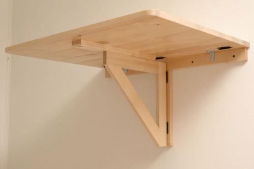 Adaptujemy sk adany stolik cienny na stoj ce miejsce pracy lifehacker - Klapptisch wand ikea ...