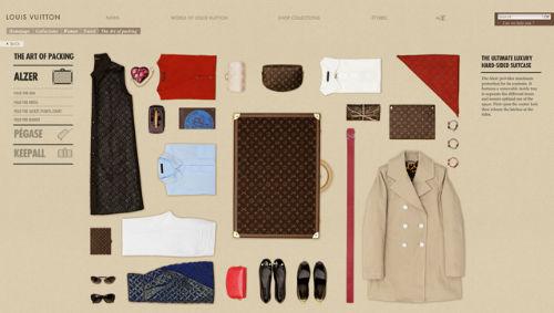 Sztuka pakowania od Louis Vuitton